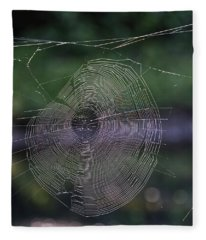 Another Web Fleece Blanket