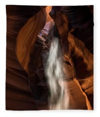 Antelope Canyon Fleece Blanket