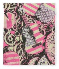 Anthems Of America Fleece Blanket