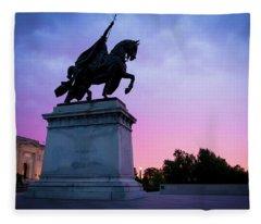 Apotheosis Of St. Louis, King Of France Fleece Blanket
