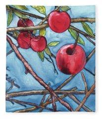 Apple Harvest Fleece Blanket
