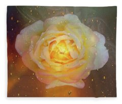 April Showers Fleece Blanket