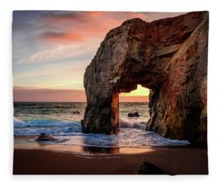 Arche De Port Blanc Fleece Blanket