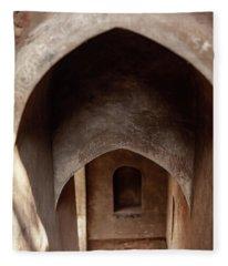 Arches Of Shaniwar Wada Fleece Blanket