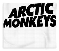 Arctic Monkeys Emo Rock Music Band Indie Veteran Fleece Blanket