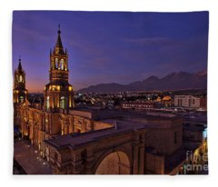 Arequipa Is Peru Best Kept Travel Secret Fleece Blanket