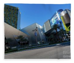 Aria Casino Las Vegas Fleece Blanket