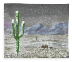 Arizona Blizzard Fleece Blanket