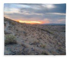 Arizona Desert Fleece Blanket