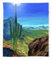 Arizona Heat Fleece Blanket