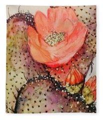 Arizona Is Blooming  Fleece Blanket