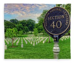 Arlington National Cemtery Fleece Blanket