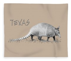 Armadillo Fleece Blanket