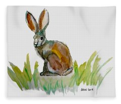Arogs Rabbit Fleece Blanket