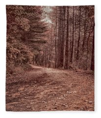 Around The Corner Fleece Blanket