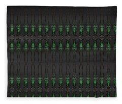 Art Deco Design 10 Fleece Blanket