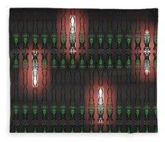 Art Deco Design 14 Fleece Blanket