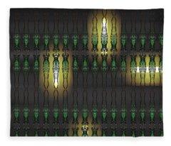 Art Deco Design 15 Fleece Blanket