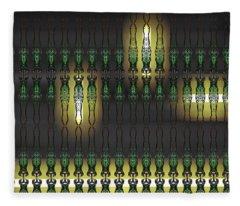 Art Deco Design 16 Fleece Blanket