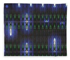 Art Deco Design 17 Fleece Blanket