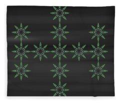 Art Deco Design 2 Fleece Blanket