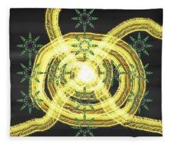 Art Deco Design 4 Fleece Blanket