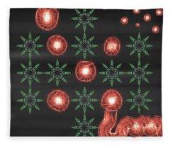 Art Deco Design 5 Fleece Blanket