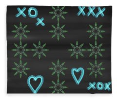 Art Deco Design 6 Fleece Blanket