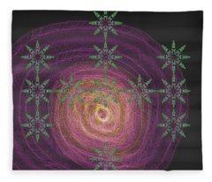 Art Deco Design 7 Fleece Blanket