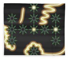 Art Deco Design 8 Fleece Blanket