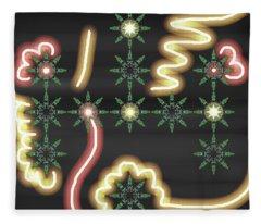 Art Deco Design 9 Fleece Blanket