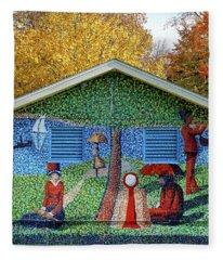 Art In The Park Fleece Blanket