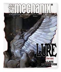 arteMECHANIX 1915 LURE GRUNGE Fleece Blanket