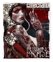arteMECHANIX 1933 The BLUSHING BRIDE GRUNGE Fleece Blanket