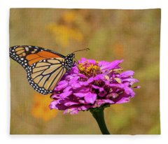 Artistic Monarch 2018-1 Fleece Blanket