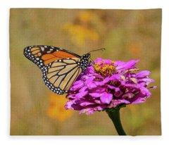 Artistic Monarch 2018-1 Fleece Blanket