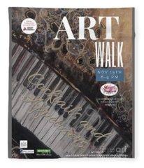 Artwalk Art Show Scottsdale  Fleece Blanket