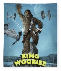 King Wookiee Fleece Blanket