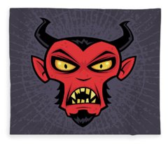 Mad Devil Fleece Blanket