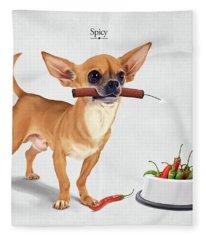 Spicy Fleece Blanket