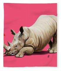 Horny Colour Fleece Blanket