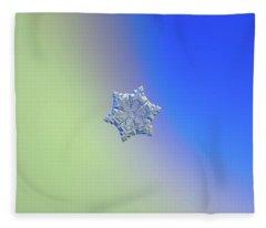 Real Snowflake - 05-feb-2018 - 12 Alt Fleece Blanket