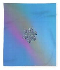 Real Snowflake - 05-feb-2018 - 13 Fleece Blanket
