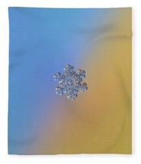 Real Snowflake - 05-feb-2018 - 13 Alt Fleece Blanket
