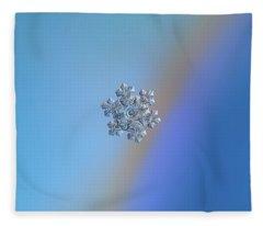 Real Snowflake - 05-feb-2018 - 14 Fleece Blanket
