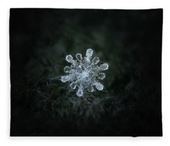 Real Snowflake - 04-feb-2018 - 1 Fleece Blanket