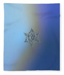 Real Snowflake - 05-feb-2018 - 15 Fleece Blanket
