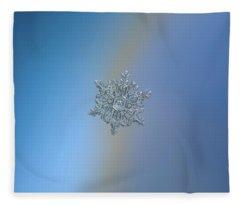 Real Snowflake - 05-feb-2018 - 16 Fleece Blanket