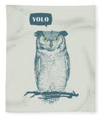 Yolo Fleece Blanket