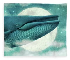 The Great Whale Fleece Blanket